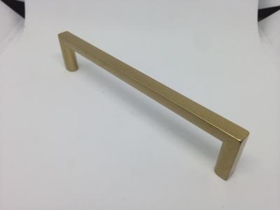 Ручка-скоба 128мм, отделка золото матовое 6765/200