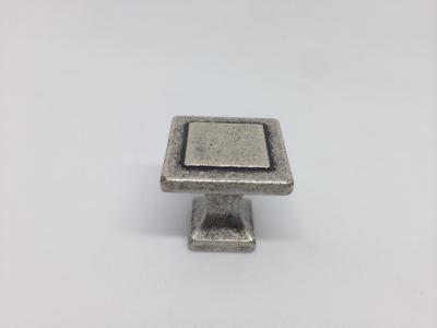 Ручка-кнопка серебро состаренное WPO.115.000.00E8