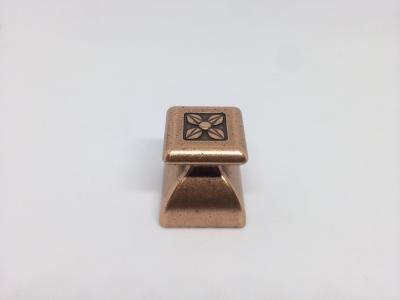 Ручка кнопка, отделка медь античная 24124Z02700.29B
