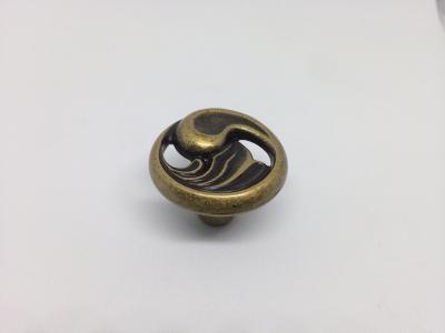 """Ручка кнопка, отделка бронза """"Флоренция"""" 24169Z03000.09B"""