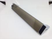 Ручка-скоба 160мм, отделка хром глянец + транспарент коричневый 8.1082.0160.45-106