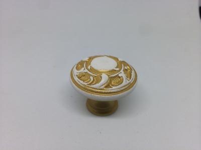 24401Z03000.41 Ручка-кнопка, отделка золото винтаж