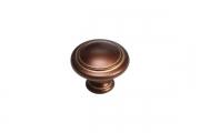 WPO.2025Y.30.M001H Ручка-кнопка, отделка медь Сиена с золотой патиной