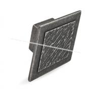 Ручка-кнопка 16мм серебро состаренное 2032.16.09