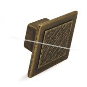 Ручка-кнопка 16мм бронза состаренная 2032.16.23