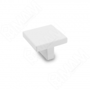 2036.16.71 Ручка-кнопка 16мм белый матовый