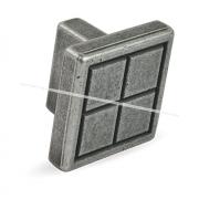 Ручка-кнопка 16мм серебро состаренное 2039.16.09