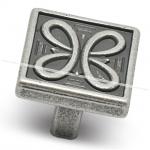 Ручка-кнопка 16мм серебро состаренное 2040.16.09
