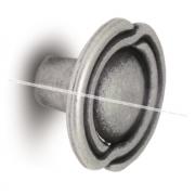Ручка-кнопка D31мм серебро состаренное 2044.09