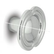 Ручка-кнопка D31мм хром 2044.1