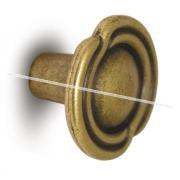 Ручка-кнопка D31мм бронза состаренная 2044.23