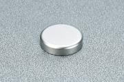 P2CTA06 Заглушка круглая к петле для стекла, отделка хром глянец