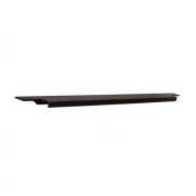 Ручка врезная 596мм, отделка бронза темная 408020596-94.1