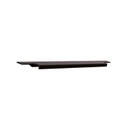 Ручка врезная 446мм, отделка бронза темная 408020446-94.1
