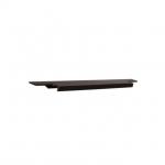 Ручка врезная 396мм, отделка бронза темная 408020396-94.1