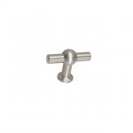 Ручка-кнопка, отделка сталь нержавеющая шлифованная S224240060-25.1