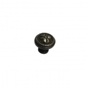 Ручка-кнопка, отделка бронза античная KB-M-3804-32-AF