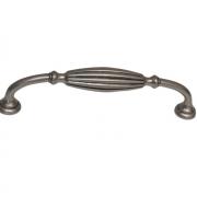 Ручка-скоба 128мм, отделка никель античный HN-M-3255-128-NP