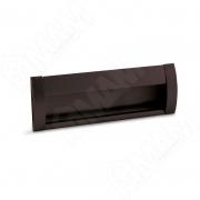 SH.RU2.128.BR Ручка-раковина 128мм крепление саморезами коричневый матовый