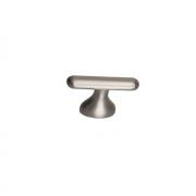 Ручка-кнопка 16мм, отделка сталь шлифованная S536360016-66