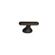 Ручка-кнопка 16мм, отделка бронза античная темная S536360016-23