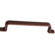 Ручка-скоба 128мм, отделка медь античная S530660128-98.1
