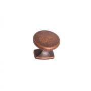 Ручка-кнопка, отделка медь античная S536460034-98