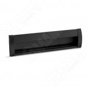 SH.RU2.160.BL Ручка-раковина 160мм крепление саморезами черный матовый