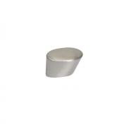 Ручка-кнопка, отделка никель глянец шлифованный 8.960.B000.34
