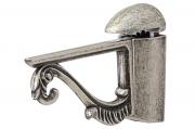 2310.20.PV Менсолодержатель пеликан классический, отделка серебро старое, комплект 2 штуки