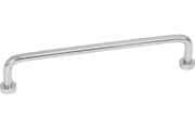 S240330160-18 Ручка-скоба 160 мм, отделка хром глянец