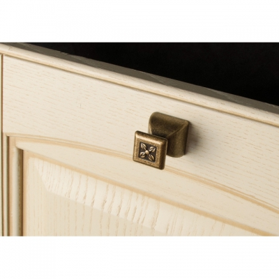 """Ручка кнопка, отделка бронза """"Флоренция"""" 24124Z02700.09B"""