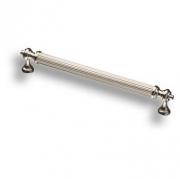 2512-016-160 Ручка скоба латунь глянцевый никель 160 мм