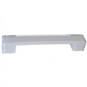 Ручка-скоба 160мм, отделка транспарент + серый a306.TR/GR24