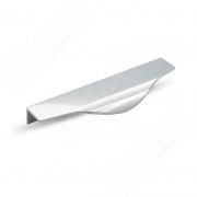 26.200.AS Профиль-ручка 200мм крепление саморезами алюминий полированный