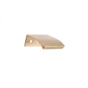 Ручка-кнопка L.40мм, отделка золото шлифованное 419720040-31.1