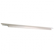 Ручка накладная 596мм (240/240), отделка сталь шлифованная 4266205955-66