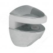 FA27CR COBRONE Полкодержатель для стеклянных полок толщиной 8-10 мм, хром