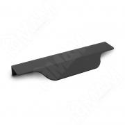 27.150.7W Профиль-ручка 150мм крепление саморезами черный матовый