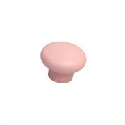 Ручка-кнопка, отделка розовая a419.VE35ROS