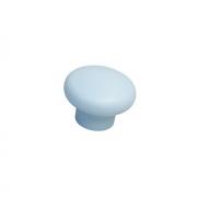 Ручка-кнопка, отделка голубая a419.VE35AZZ