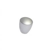 Ручка-кнопка, отделка серая a011.V0624