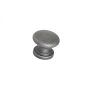 Ручка-кнопка, отделка античное железо a021.AVFEAN24