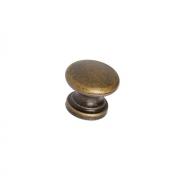 Ручка-кнопка, отделка бронза античная a021.AVBRAN24