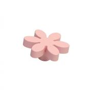 Ручка-кнопка, отделка розовая a415.VE24ROS