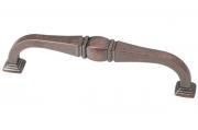 M278.128.BAC Ручка-скоба 128мм, отделка медь античная