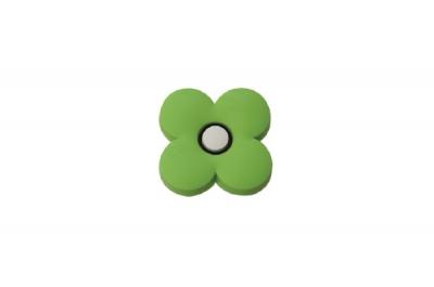 "MC 003.G Ручка-кнопка ""Цветок зеленый"""