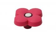 "MC 003.P Ручка-кнопка ""Цветок розовый"""