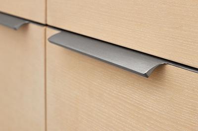 426620446-66 Ручка накладная 446мм (165/165), отделка сталь шлифованная