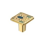 KA3-000JW42-OT Ручка-кнопка,золото, JEWEL